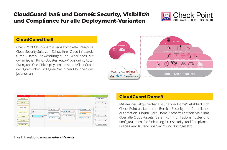 CloudGuard IaaS und Dome9