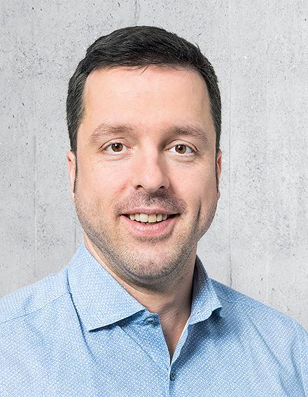 Matthias Hostettler, Leiter Innendienst