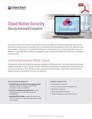 check-point-cloud-guard-datasheet