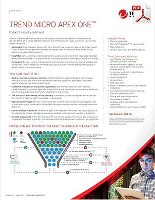 apex-one-datasheet