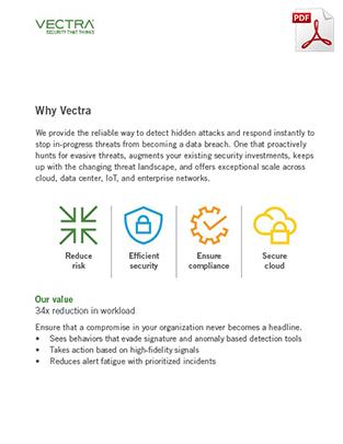 vectra-datasheet