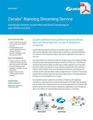 zscaler-nanolog-streaming-service-datasheet